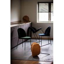 Loungestol Konrad Teddy hvit | Kremmerhuset